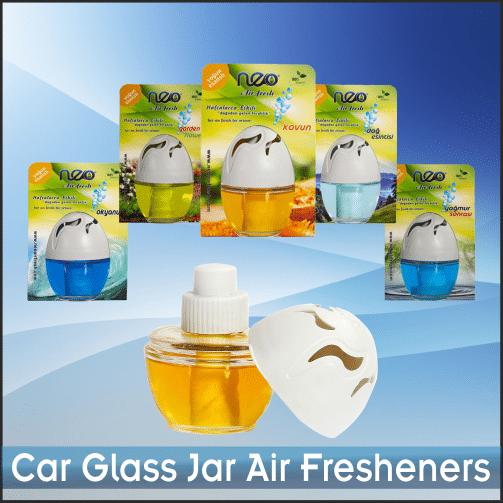 Car Glass Jar Air Fresheners